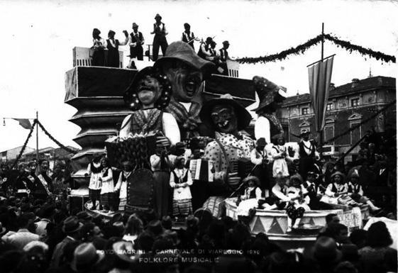 Folclore musicale di Carlo Bomberini - Carri piccoli - Carnevale di Viareggio 1939