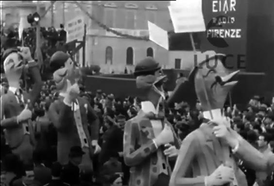 I becchifini di  - Mascherate di Gruppo - Carnevale di Viareggio 1939