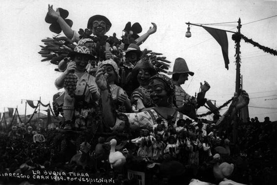 La buona terra di Rolando Morescalchi - Carri grandi - Carnevale di Viareggio 1939
