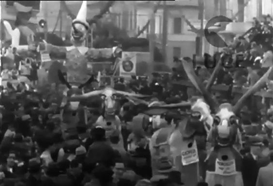 Settimana di Pinocchio di Mario Bonetti - Mascherate di Gruppo - Carnevale di Viareggio 1939