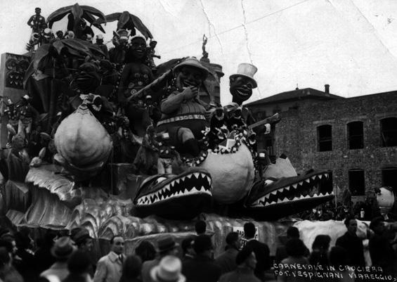 Carnevale in crociera di Guido Lippi - Carri grandi - Carnevale di Viareggio 1940