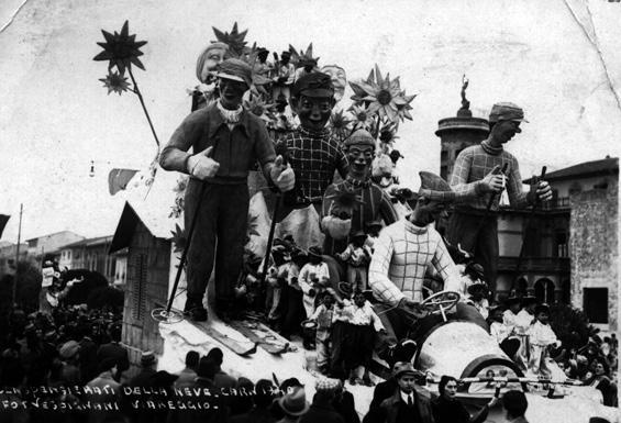 Cinquemila lire per un sorriso di Renato Santini - Mascherate di Gruppo - Carnevale di Viareggio 1940
