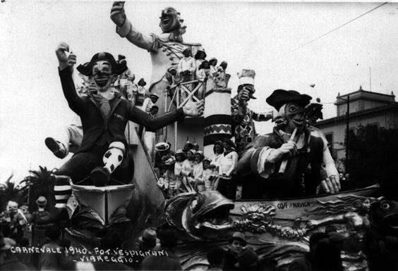 Così si naviga di Eugenio Pardini e Michelangelo Marcucci - Carri grandi - Carnevale di Viareggio 1940
