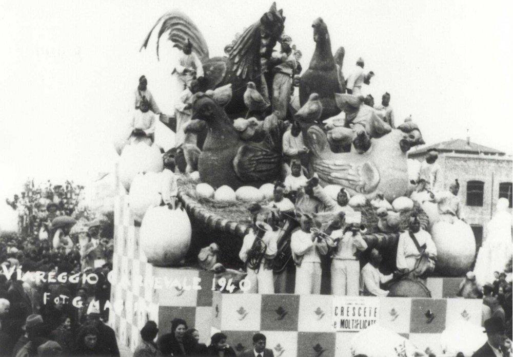 I funghi buoni e cattivi di Danilo Di Prete - Mascherate di Gruppo - Carnevale di Viareggio 1940
