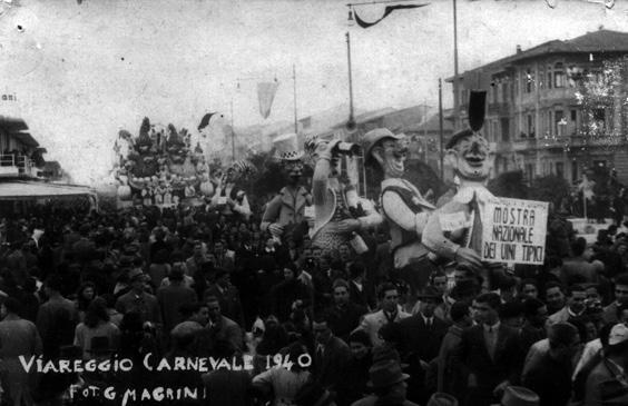 La mostra dei vini tipici di Carlo Bomberini - Mascherate di Gruppo - Carnevale di Viareggio 1940