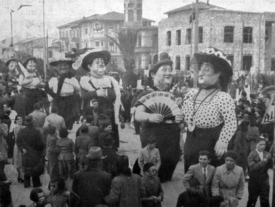 Le vedove allegre di Alfredo Morescalchi - Mascherate di Gruppo - Carnevale di Viareggio 1940