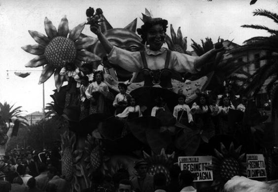 Reginetta di campagna di Carlo e Francesco Francesconi - Carri piccoli - Carnevale di Viareggio 1940