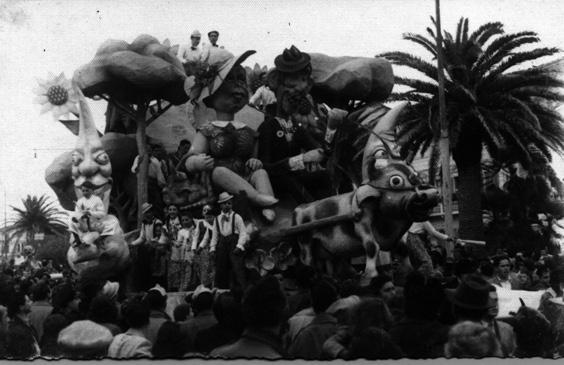 Luna di miele di Eugenio Pardini e Sergio Baroni - Carri grandi - Carnevale di Viareggio 1946