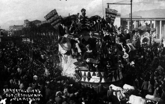 Allegro jazz di Nilo Lenci - Carri piccoli - Carnevale di Viareggio 1947
