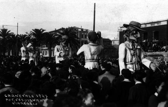 Casa per illusi di Sergio Barsella - Mascherate di Gruppo - Carnevale di Viareggio 1947