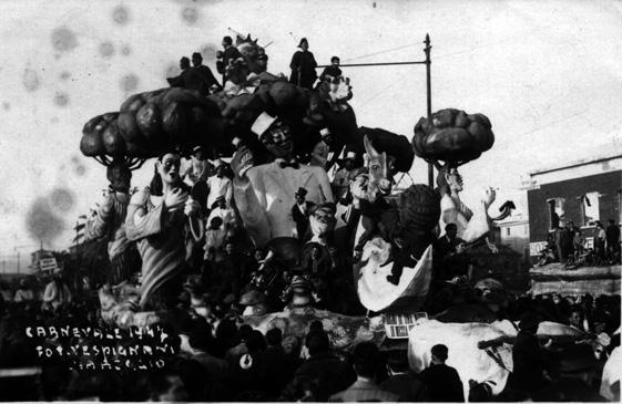 Il sogno di una notte di mezza estate di Carlo Bomberini - Carri piccoli - Carnevale di Viareggio 1947