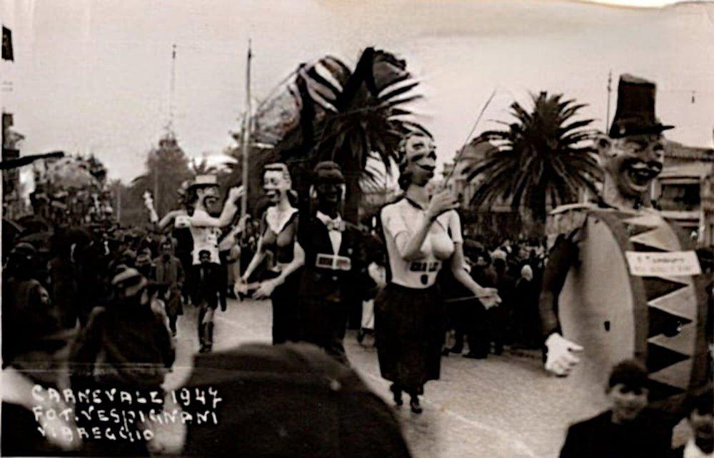 Radio Viareggio canzoniere di Amedeo Mallegni, Raffaello Raffaelli - Mascherate di Gruppo - Carnevale di Viareggio 1947