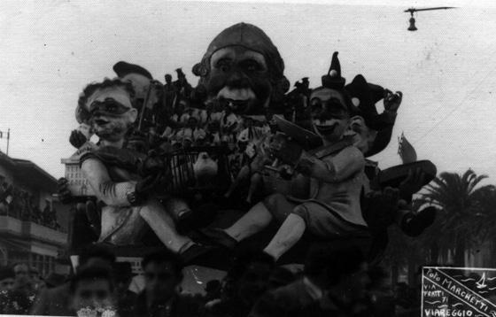 Saggio governo di Eugenio Pardini, Francesco Francesconi - Carri grandi - Carnevale di Viareggio 1947