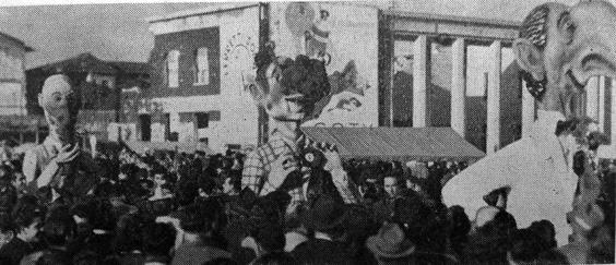 Concorso mondiale di nasi di Arnaldo Galli e Silvano Avanzini - Mascherate di Gruppo - Carnevale di Viareggio 1948