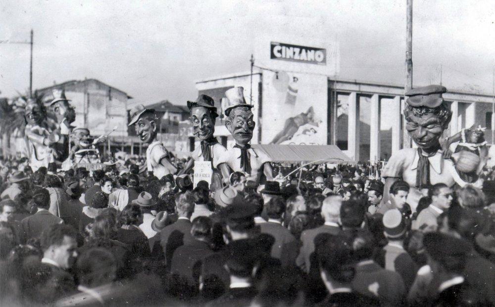 L'idea c'è di I. Biancalana - Mascherate di Gruppo - Carnevale di Viareggio 1948