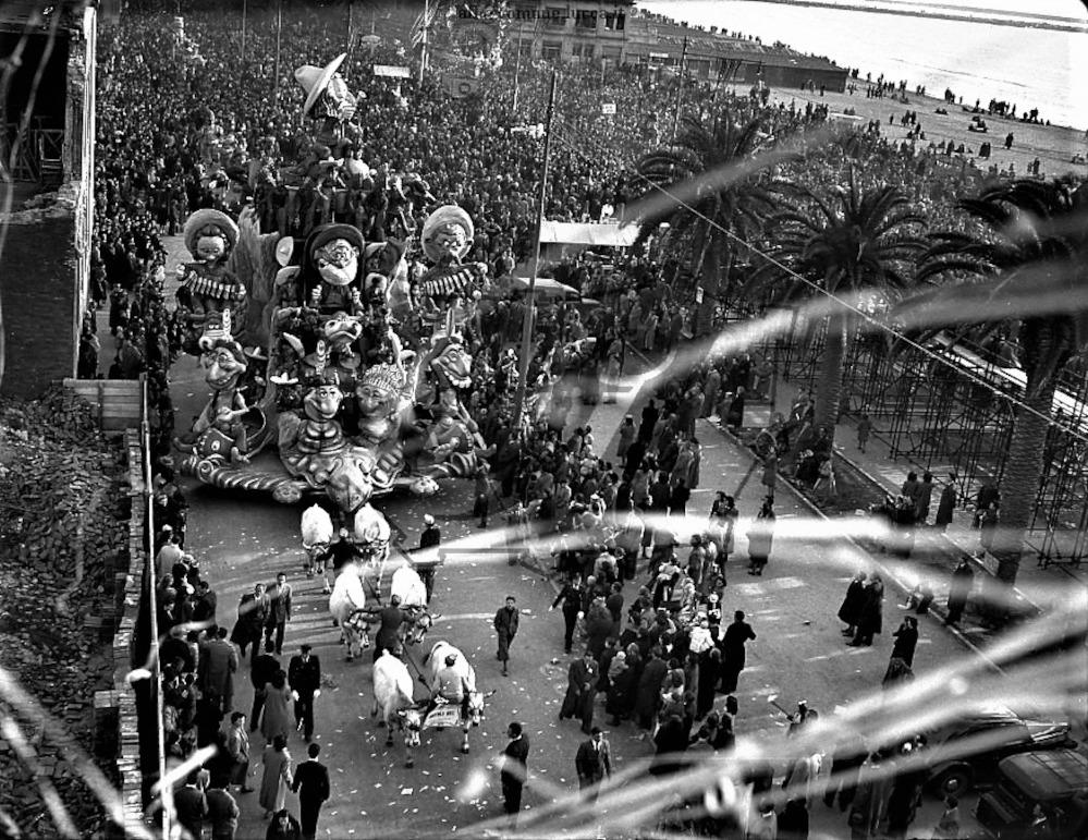 Buffalo Bill di Carlo Cinquini - Carri grandi - Carnevale di Viareggio 1949