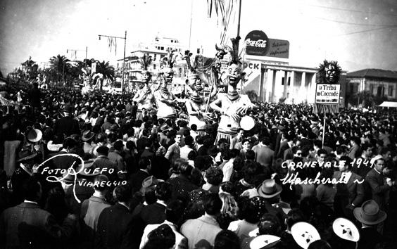Convegno ittico di Giovanni e Fortunato Pardini - Mascherate di Gruppo - Carnevale di Viareggio 1949