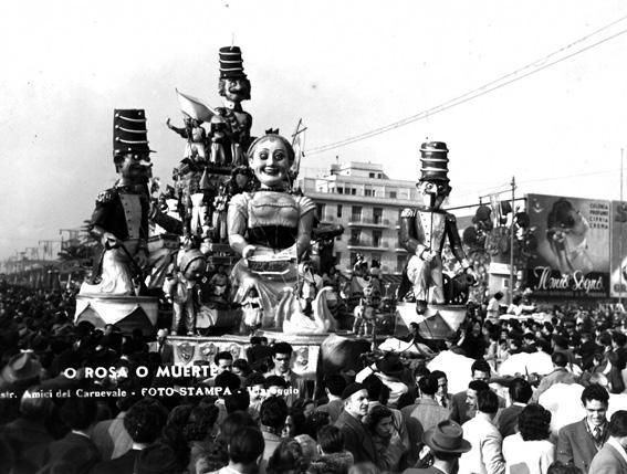 O Rosa o muerte di Bar Alceo - Carri grandi - Carnevale di Viareggio 1949