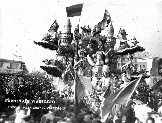 Se avessi fatto dodici di Michele Pardini e Ademaro Musetti - Carri grandi - Carnevale di Viareggio 1949