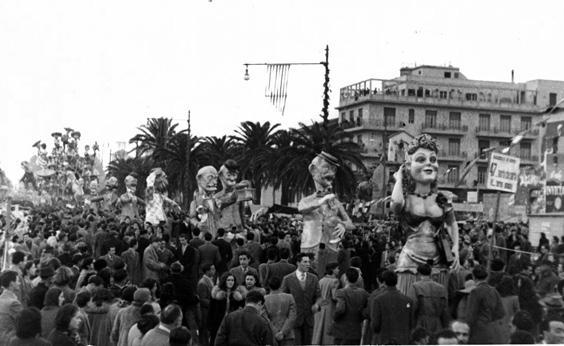 47 morto che parla di Amedeo Mallegni - Mascherate di Gruppo - Carnevale di Viareggio 1950