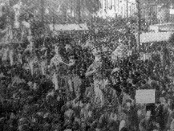 Arrivati in tempo di Guido Lippi - Mascherate di Gruppo - Carnevale di Viareggio 1950