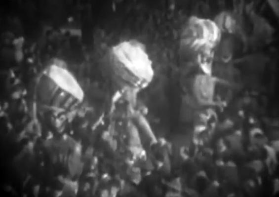 Fachiri con...turbanti di Antonio Pezzini, Giulio Bonetti, Giovanni Lazzarini - Mascherate di Gruppo - Carnevale di Viareggio 1950