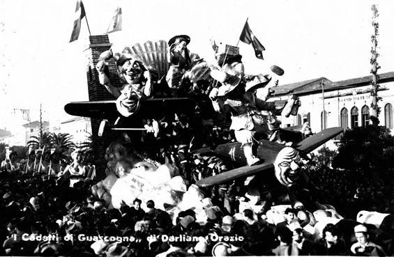 I cadetti di Guascogna di Orazio D'Arliano - Carri piccoli - Carnevale di Viareggio 1950