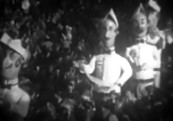 I cavalieri dell'ordine della giarrettiera di Fortunato Pardini - Mascherate di Gruppo - Carnevale di Viareggio 1950