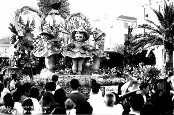 Il giardino delle bambole di  - Carri Fioriti - Carnevale di Viareggio 1950