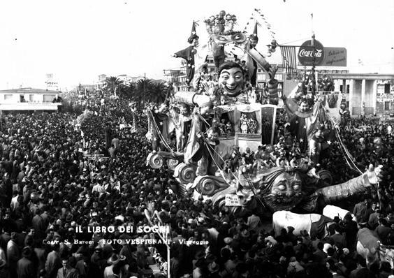 Il libro dei sogni di Sergio Baroni - Carri grandi - Carnevale di Viareggio 1950