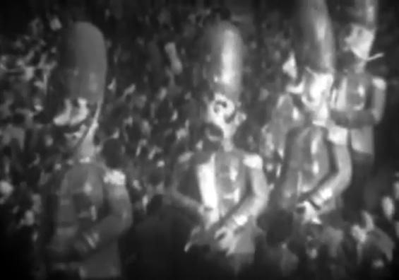 Le guardie del corpo di Giovanni Pardini - Mascherate di Gruppo - Carnevale di Viareggio 1950