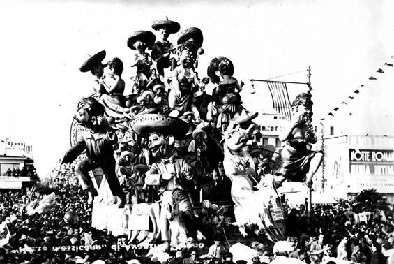 Preferisco la vacca di Arnaldo Galli, Silvano Avanzini - Carri grandi - Carnevale di Viareggio 1950