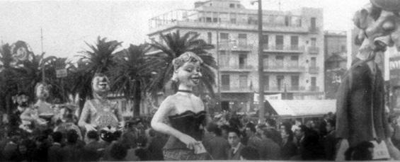 Annunci cinematografici di Guido Lippi - Mascherate di Gruppo - Carnevale di Viareggio 1951