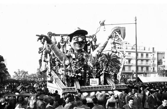 Bimbi piangete di Nilo Lenci - Carri piccoli - Carnevale di Viareggio 1951
