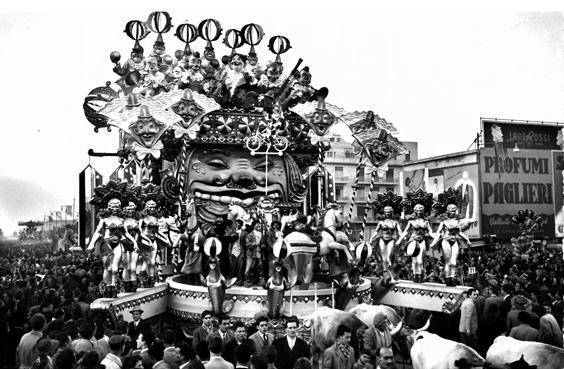 Circo Zim Bum di Antonio D'Arliano - Carri grandi - Carnevale di Viareggio 1951