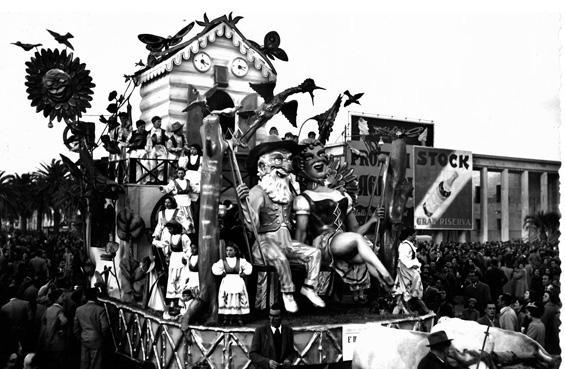 È ormai troppo tardi di Bar Alceo - Carri piccoli - Carnevale di Viareggio 1951
