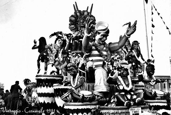 È sbarcato un marinaio di Carlo Vannucci, Sandro Bertuccelli - Carri grandi - Carnevale di Viareggio 1951