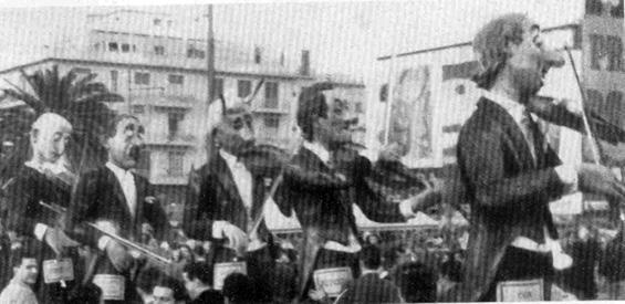 Espressioni musicali di Alfredo Morescalchi - Mascherate di Gruppo - Carnevale di Viareggio 1951
