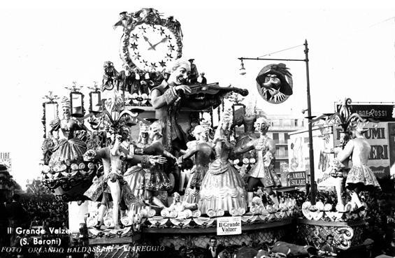 Il grande valzer di Sergio Baroni - Carri grandi - Carnevale di Viareggio 1951