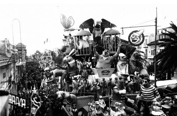 La rivincita di Michele Pardini, Ademaro Musetti - Carri grandi - Carnevale di Viareggio 1951