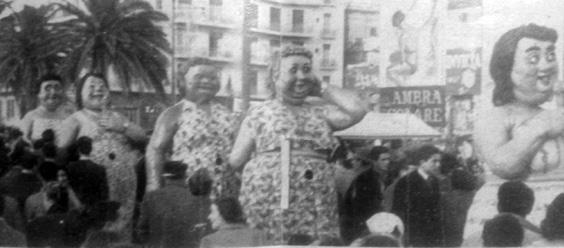 Le ciccione di Alfredo Morescalchi - Mascherate di Gruppo - Carnevale di Viareggio 1951
