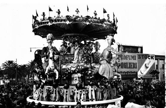 L'ultima frenesia di Fabio Romani, Oreste Lazzari, Carlo Bomberini - Carri piccoli - Carnevale di Viareggio 1951