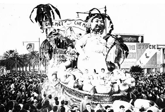 Marinai senza bussola di Davino Barsella - Mascherate di Gruppo - Carnevale di Viareggio 1951