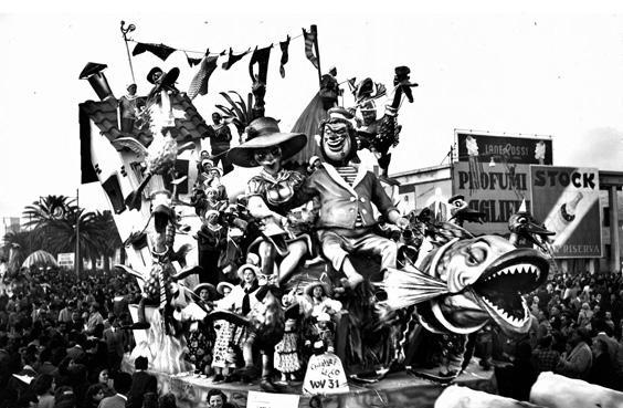 Rassegna ortofrutticola di Amedeo Mallegni - Mascherate di Gruppo - Carnevale di Viareggio 1951