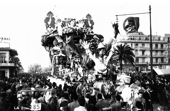 Zona del silenzio di Sergio Barsella, Carlo Francesconi - Carri grandi - Carnevale di Viareggio 1951