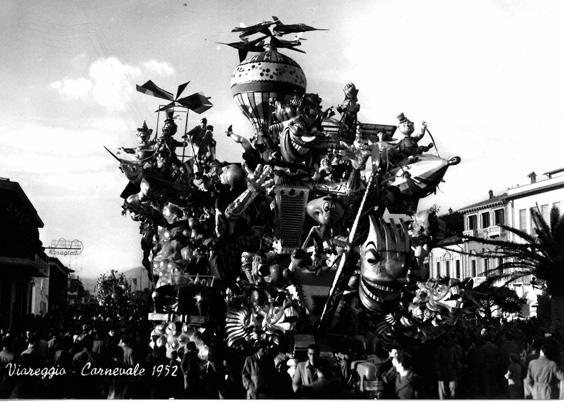 Follie del progresso di Giuseppe Domenici, Giulio Palmerini, Oreste Lazzari - Carri grandi - Carnevale di Viareggio 1952