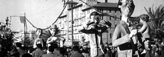 I distratti di Guido e Vittorio Lippi - Mascherate di Gruppo - Carnevale di Viareggio 1952