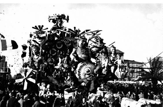 L'armata del buonumore di Michele Pardini, Ademaro Musetti - Carri grandi - Carnevale di Viareggio 1952