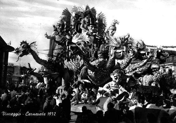 L'avventuroso di Sergio Barsella, Carlo Francesconi - Carri grandi - Carnevale di Viareggio 1952