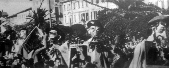 L'ultima Biennale di Giulio Bonetti, Antonio Pezzini - Mascherate di Gruppo - Carnevale di Viareggio 1952